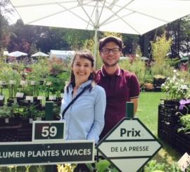 Une mention Spéciale pour Plantes et Cultures à Chantilly