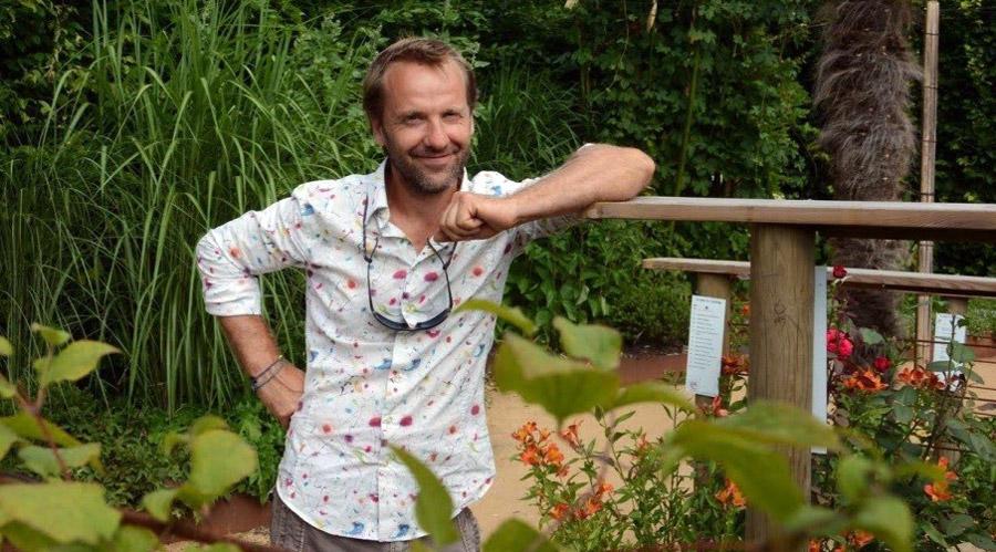 Franck Poly membre de l'association Plantes & Cultures