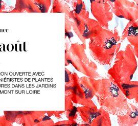 23 Aout 15h – conférence des pépiniéristes de Plantes et Cultures à Chaumont sur Loire